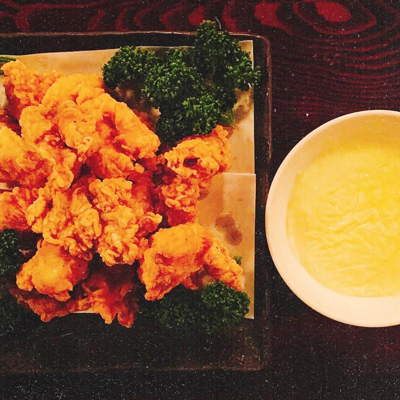 韓流チキン・チーズクリームソース